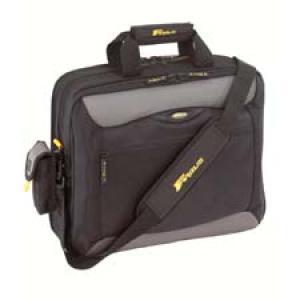 tcg400 targus city.gear - sacoche pour ordinateur portable 15.4 noir argenté