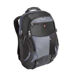 tcb001eu targus xs backpack - sac à dos pour ordinateur portable 17 noir/bleu