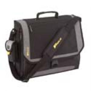 tcg200 targus city xl - sacoche pour ordinateur portable 17 noir argenté