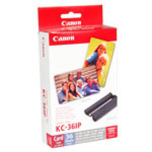 canon 7739a001 - kit encre + 36 feuilles papier photo 54x86mm - kc-36ip