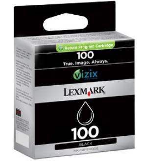 lexmark 14n0820 - cartouche d'encre noire n° 100 (lrp)
