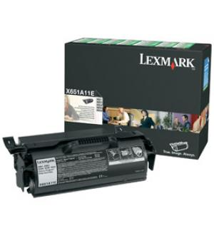 lexmark x651h11e - toner x651 / x652 / x654 / x656 / x658 (lrp) - longue durée