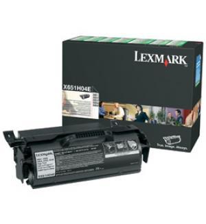 lexmark x651h04e - toner x651 / x652 / x654 / x656 / x658 (lrp) - longue durée