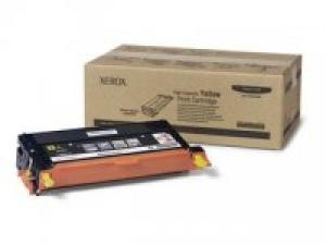 xerox 113r725 - toner jaune phaser 6180 - 6.000pages longue durée
