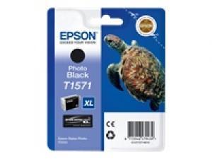 epson t1571 - cartouche encre noire photo stylus photo r3000