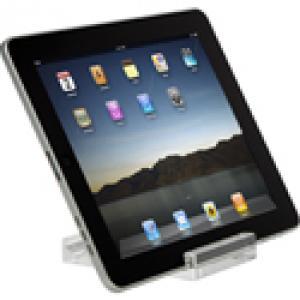 awe65eu targus - support pour tablette web - clair - acrylique - 10-17.8/25.4cm